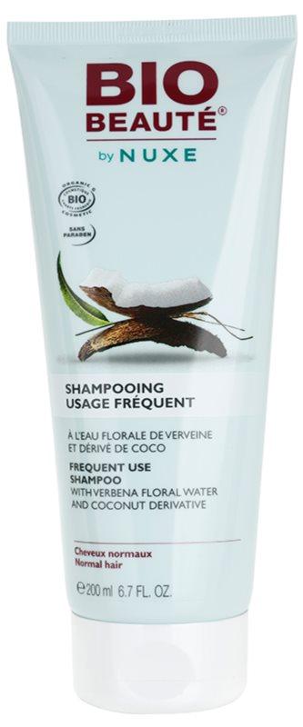 Bio Beauté by Nuxe Hair champô para uso frequente com água floral da verbena e derivados de coco