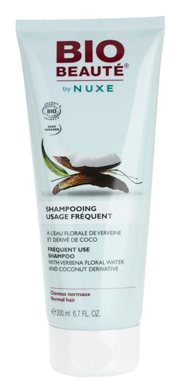 Bio Beauté by Nuxe Hair szampon do częstego stosowania z wodą kwiatową z werbeny i derywatem kokosowym