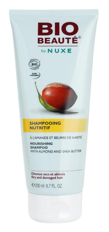 Bio Beauté by Nuxe Hair hranilni šampon z mandlji in karitejevim maslom