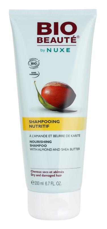Bio Beauté by Nuxe Hair Shampoo mit ernährender Wirkung mit Mandeln und Sheabutter