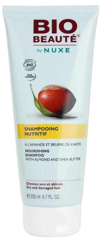 Bio Beauté by Nuxe Hair vyživující šampon s mandlemi a bambuckým máslem