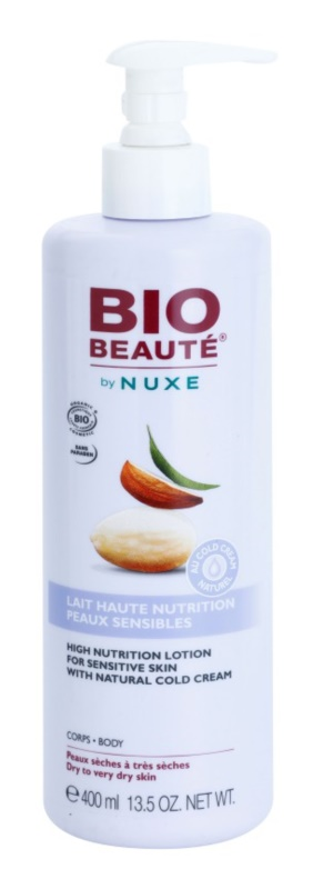 Bio Beauté by Nuxe High Nutrition hranilni losjon za telo z vsebnostjo cold cream
