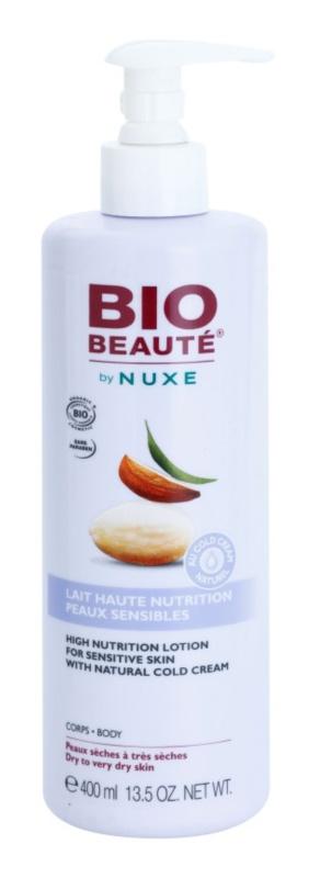 Bio Beauté by Nuxe High Nutrition výživné telové mlieko  s obsahom cold cream