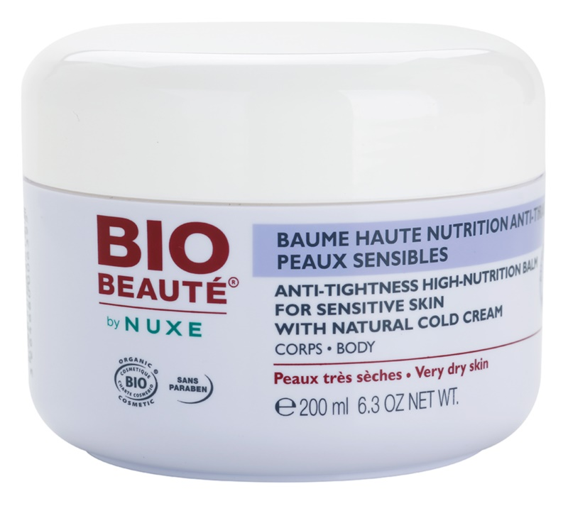 Bio Beauté by Nuxe High Nutrition baume nourrissant intense riche en Cold Cream