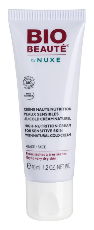 Bio Beauté by Nuxe High Nutrition vyživující krém s obsahem Cold Cream