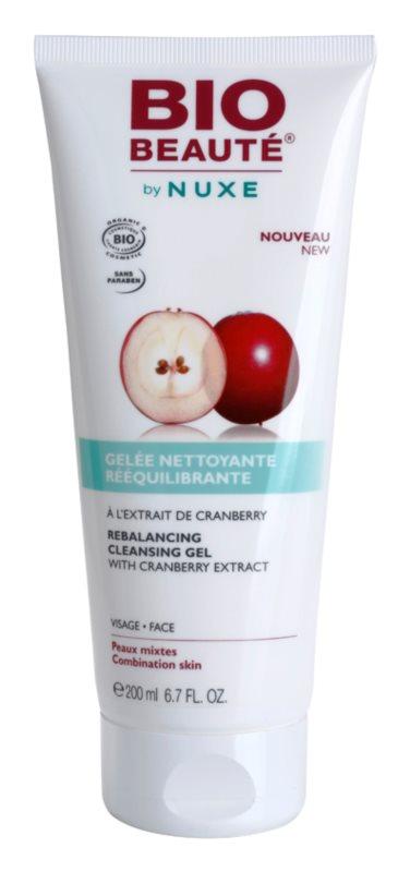 Bio Beauté by Nuxe Rebalancing balansirajući gel za čišćenje s ekstraktom brusnice