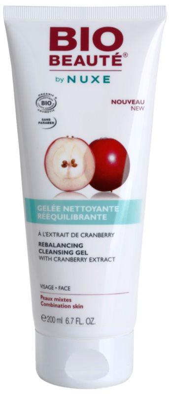 Bio Beauté by Nuxe Rebalancing vyrovnávací čistiaci gél s brusnicovým extraktom