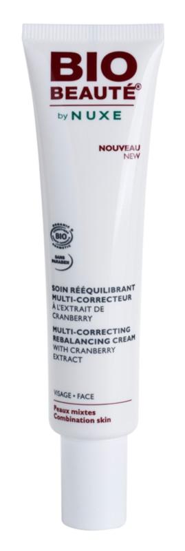 Bio Beauté by Nuxe Rebalancing crema correttrice riequilibrante all'estratto di mirtillo