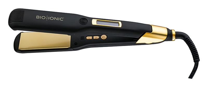 Bio Ionic GoldPro Smoothing   Styling Iron Hair Straightener 4d573e6b675