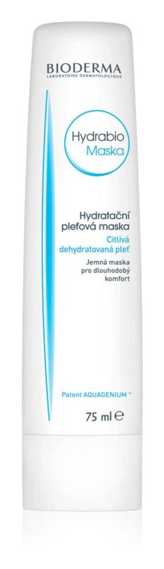 Bioderma Hydrabio Masque hydratační a vyživující maska pro citlivou velmi suchou pleť