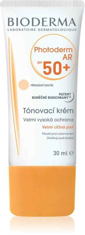 Bioderma Photoderm AR αντηλιακή κρέμα για σολάριουμ με μπρονζερ SPF 50+
