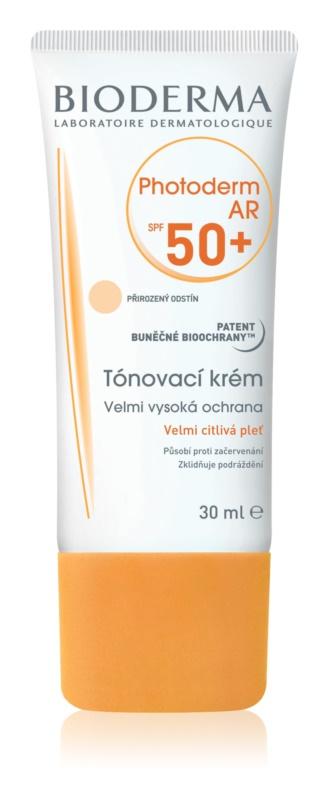 Bioderma Photoderm AR αντηλιακή κρέμα για σολάριουμ με μπρονζερ SPF50+