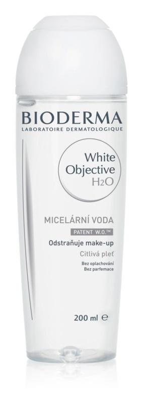 Bioderma White Objective reinigendes Mizellenwasser gegen Pigmentflecken