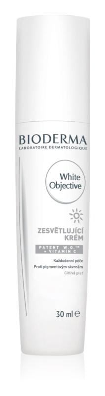 Bioderma White Objective krem rozjaśniający przeciw przebarwieniom skóry