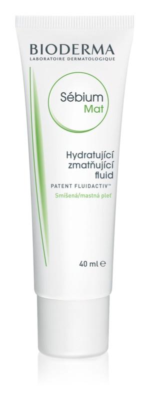 Bioderma Sébium Mat fluide pour peaux grasses et mixtes