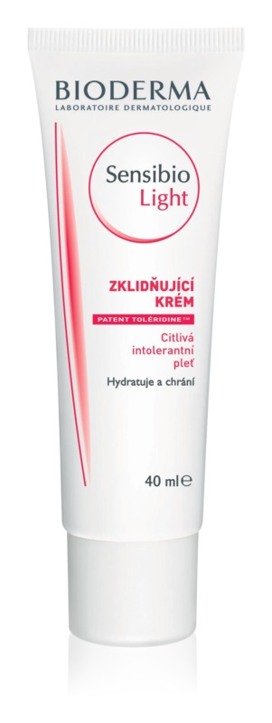 Bioderma Sensibio Light hydratisierende und beruhigende Creme für empfindliche Haut