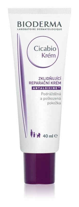 Bioderma Cicabio Creme die beruhigende Creme Gegen Reizungen und Jucken der Haut
