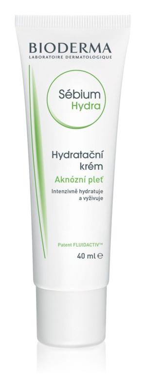 Bioderma Sébium Hydra hidratáló krém zsíros bőrre