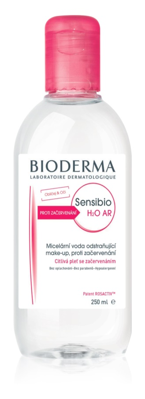Bioderma Sensibio H2O AR micelláris víz Érzékeny, bőrpírra hajlamos bőrre