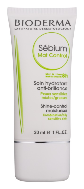Bioderma Sébium Mat Control Light Moisturizing Cream To shine and expanded pores