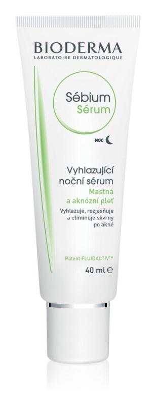 Bioderma Sébium Sérum noćni serum za čišćenje s piling učinkom