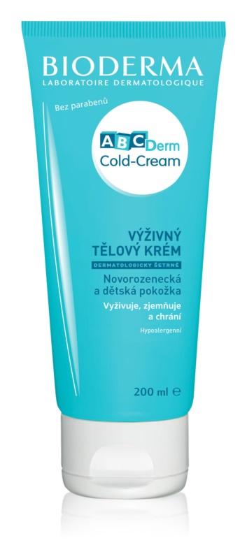 Bioderma ABC Derm Cold-Cream nährende Körpercrem für Kinder