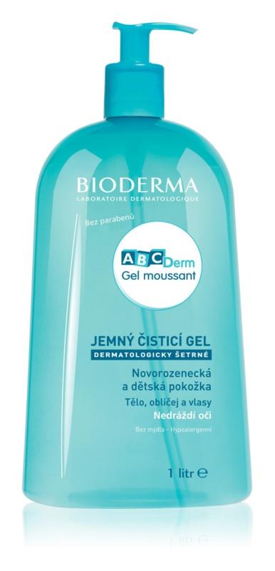 Bioderma ABC Derm Moussant gel de duche para crianças