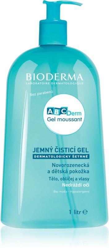 Bioderma ABC Derm Moussant гель для душу для дітей
