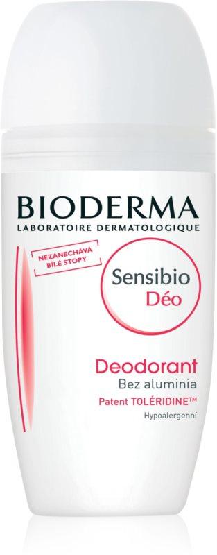Bioderma Sensibio Deo roll-on antiperspirant cu efect răcoritor pentru piele sensibila