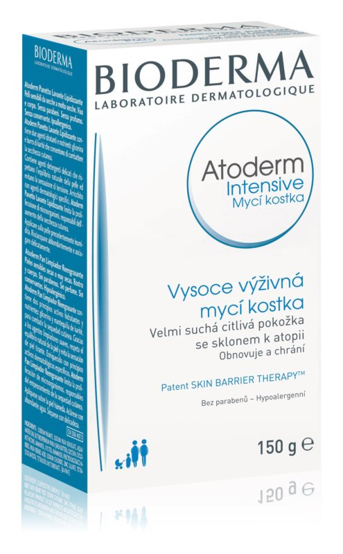 Bioderma Atoderm Nutritive Cleansing Soap For Dry To Very Dry Skin