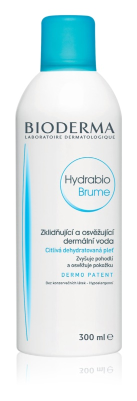 Bioderma Hydrabio Brume spray pe baza de apa pentru reimprospatare pentru piele sensibila