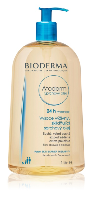 Bioderma Atoderm Extra Nourishing Soothing Shower Oil For Dry And Irritated Skin