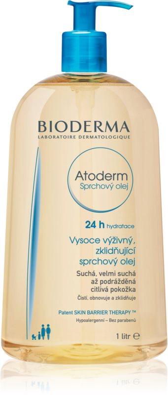 Bioderma Atoderm vysoce výživný zklidňující sprchový olej pro suchou a podrážděnou pokožku