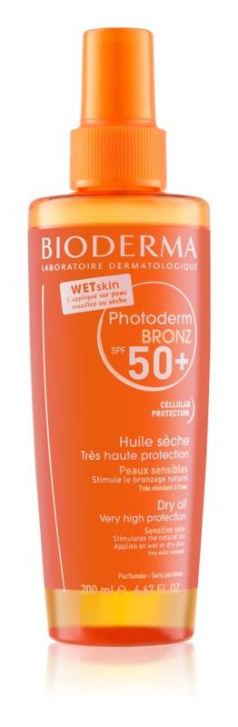Bioderma Photoderm Bronz Protective Dry Oil Spray SPF 50+