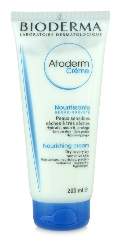 Bioderma Atoderm crema corporal para pieles secas a muy secas sin perfume