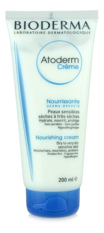 Bioderma Atoderm crème corporelle pour peaux sèches à très sèches sans parfum