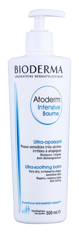 Bioderma Atoderm Intensive intenzivni umirujući balzam za vrlo suhu, osjetljivu i atopičnu kožu