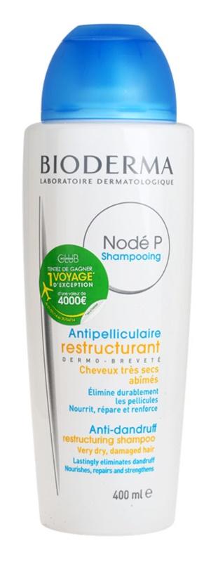 Bioderma Nodé P sampon anti-matreata pentru par uscat si deteriorat