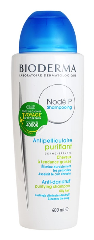 Bioderma Nodé P champú anticaspa para cabello graso