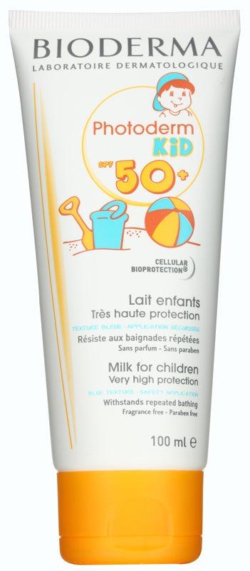 Bioderma Photoderm Kid мляко за загар  SPF 50+