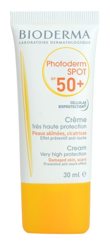 Bioderma Photoderm Spot crema de protectie solara impotriva petelor  intunecate SPF 50+