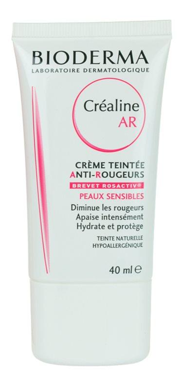 Bioderma Créaline AR crème teintée pour peaux sensibles sujettes aux rougeurs