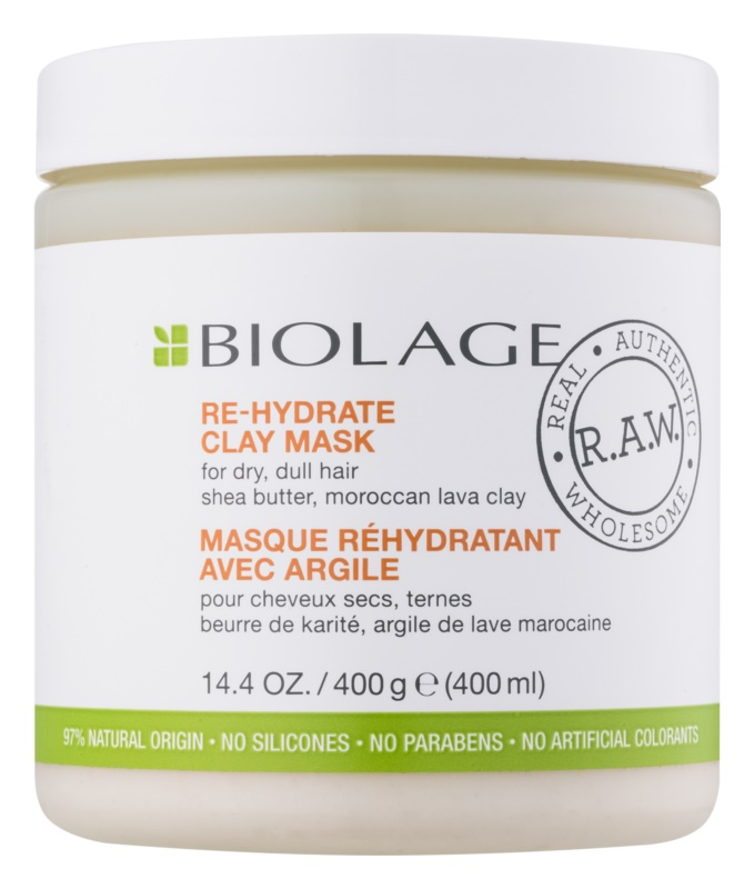 Biolage RAW Nourish Clay Mask for Dry and Damaged Hair