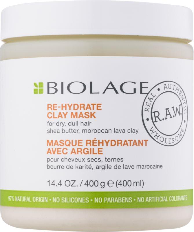 Biolage RAW Nourish маска з глиною  для сухого або пошкодженого волосся