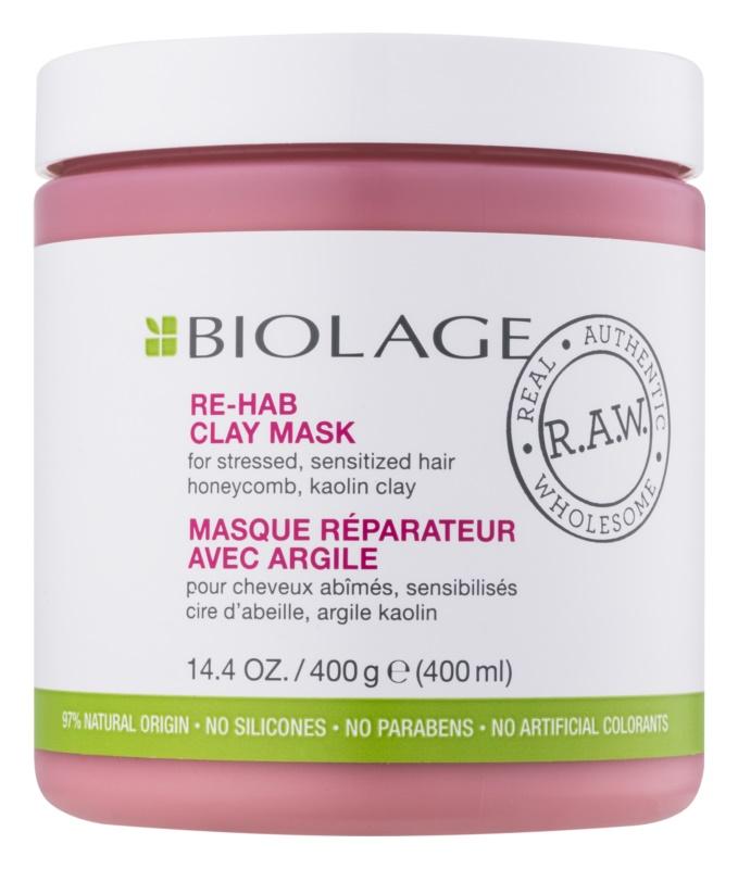 Biolage RAW Recover маска з глиною  для слабкого волосся