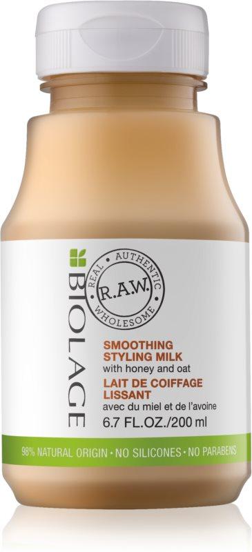Biolage RAW Styling Glättende Styling-Milch mit Honig und Hafer