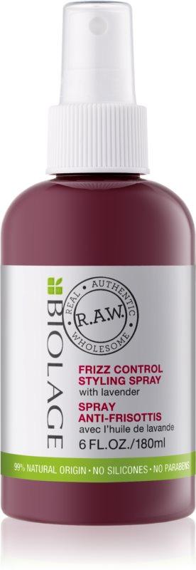 Biolage RAW Styling spray tegen krullen met Lavendel
