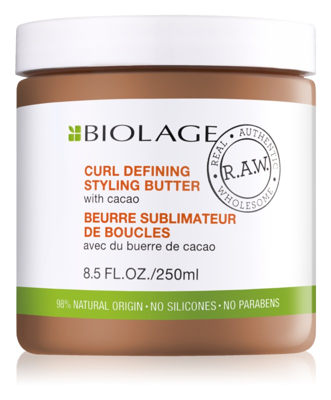 Biolage RAW Styling styling boter voor krull definitie met cacao