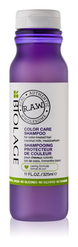 Biolage RAW Color Care shampoing pour cheveux colorés