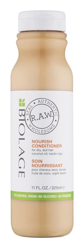 Biolage RAW Nourish tápláló kondícionáló száraz hajra